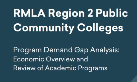 Program Demand Gap Analysis: Economic Overview Full Report