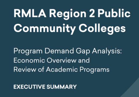Program Demand Gap Analysis: Economic Overview Executive Summary