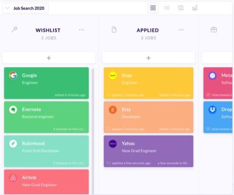 Huntr: Organize your Job Search