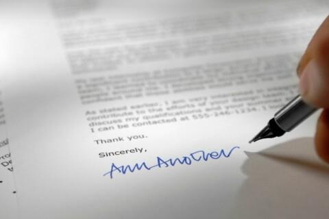 Legal Cover Letter Checklist thumbnail image