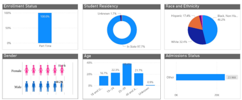 Louisiana Community and Technical College System Diversity Dashboard